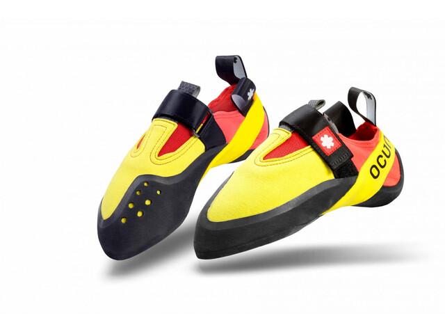 Ocun Rival Lapset Kiipeilykengät , keltainen/punainen